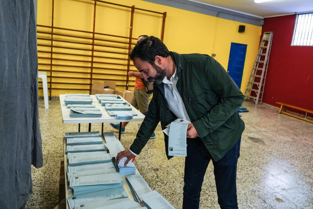Daniel Pérez (PSOE) en Miraflores.