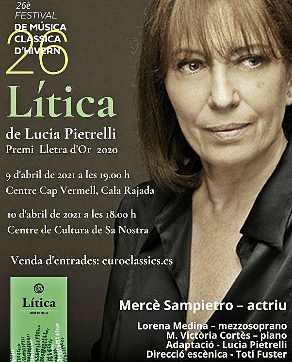 'Lítica' de Lucia Pietrelli, en la voz  de Mercedes Sampietro