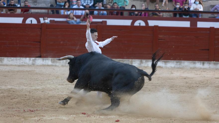 Jesús Banegas vencedor del I concurso de Recortadores en Caravaca