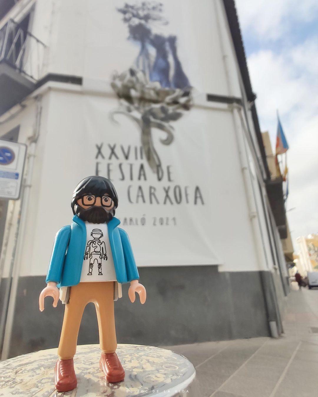 Excursión por las fiestas locales de Castellón a través de una colección de Playmobil