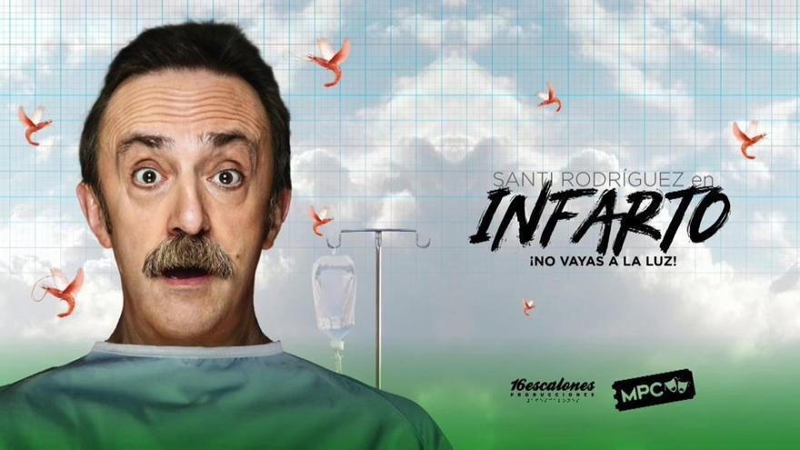 «¡Infarto! No vayas a la luz» de Santi Rodríguez se representará el domingo 18 de octubre en el Gran Teatre