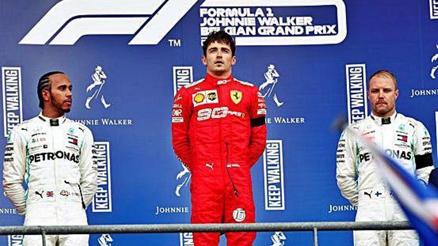 Leclerc aconsegueix a Spa la seva primera victòria i Hamilton reforça el lideratge