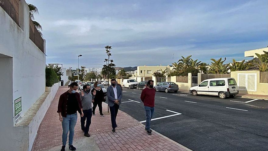 Finalizadas las obras de urbanización de la calle Ávila