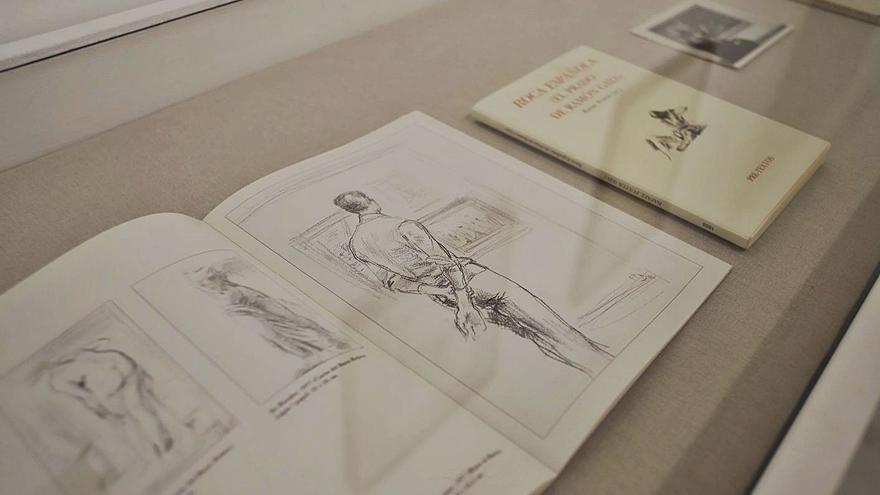 El Gaya que dibujaba a lápiz y boli sobre papel