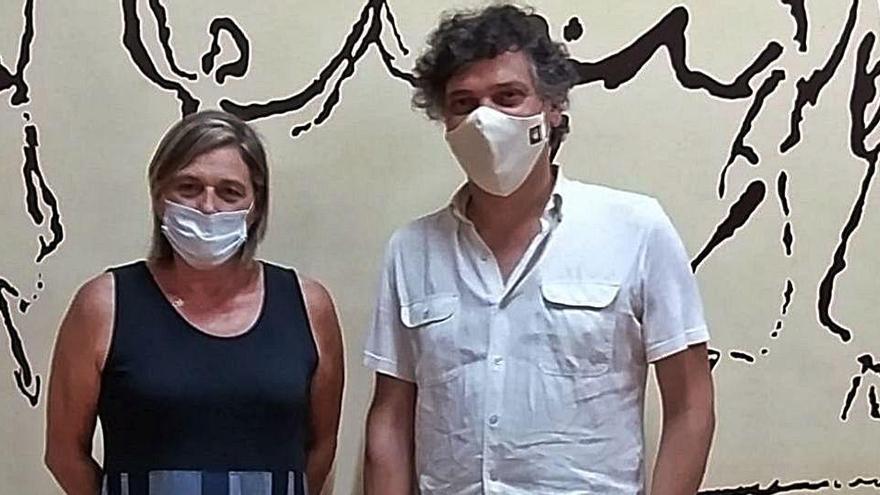 Núria Soler relleva Pere Vila al capdavant de l'Agrupació Cultural del Bages