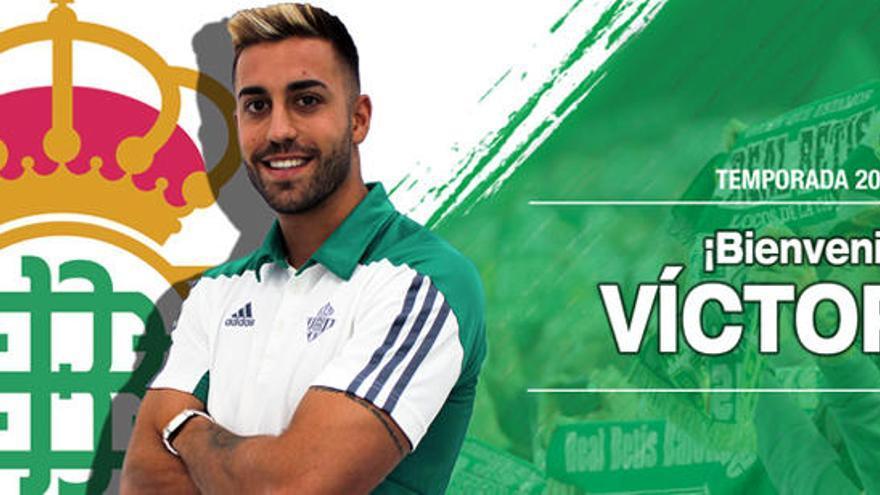 El Betis oficializa el fichaje de Víctor Camarasa