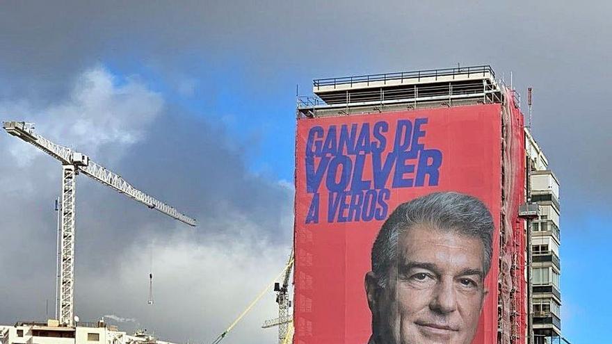 Laporta hace campaña en Madrid
