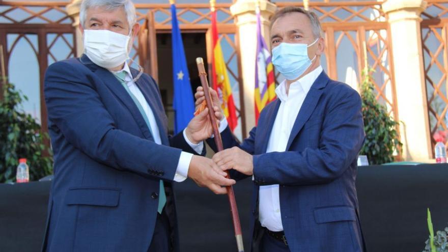 El socialista Antoni Mir toma posesión como nuevo alcalde de Andratx