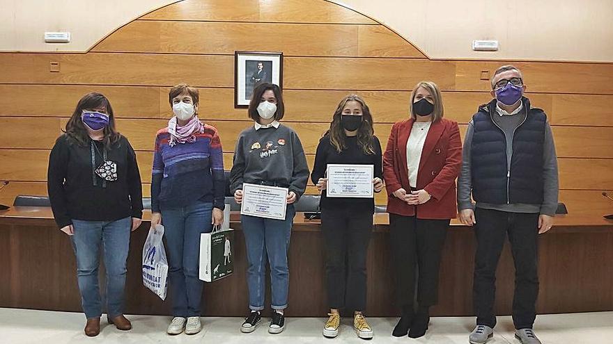 Las Colinas guanya el concurs «Aturem les violències masclistes!»