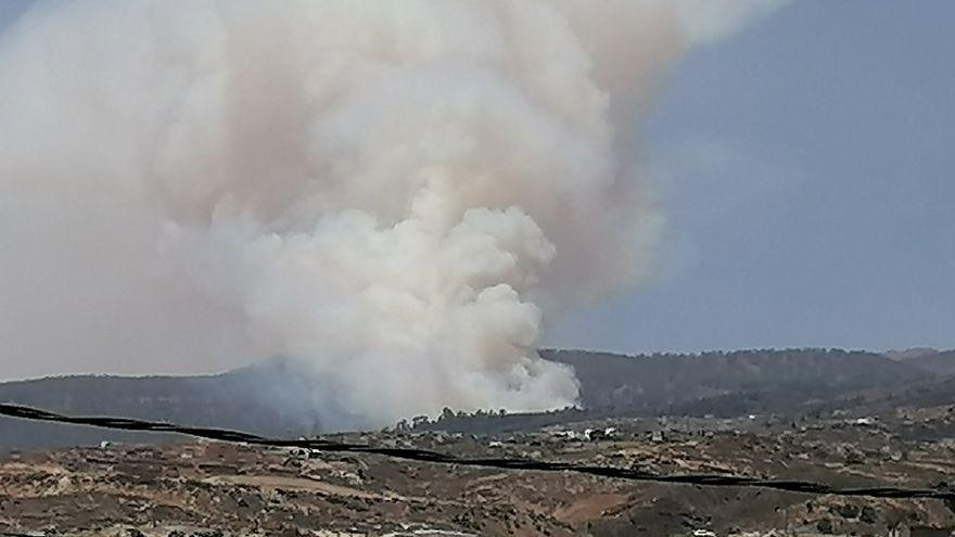 Canarias recibirá 300.000 euros para paliar los daños del incendio forestal de Arico