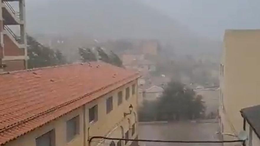 El Pirineo, Gúdar y Maestrazgo continúan en alerta amarilla por lluvias