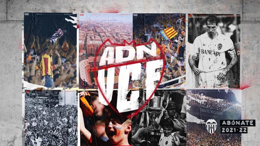 El Valencia CF lanza la campaña de abonos 21/22