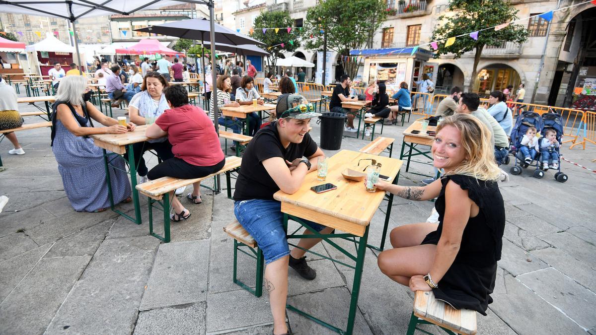 La feria de la cerveza se celebró en A Ferrería