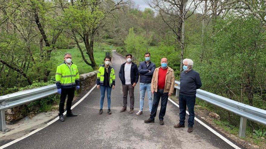 Recibidas las obras de las carreteras de Trefacio a Murias y de Lubián a la A-52