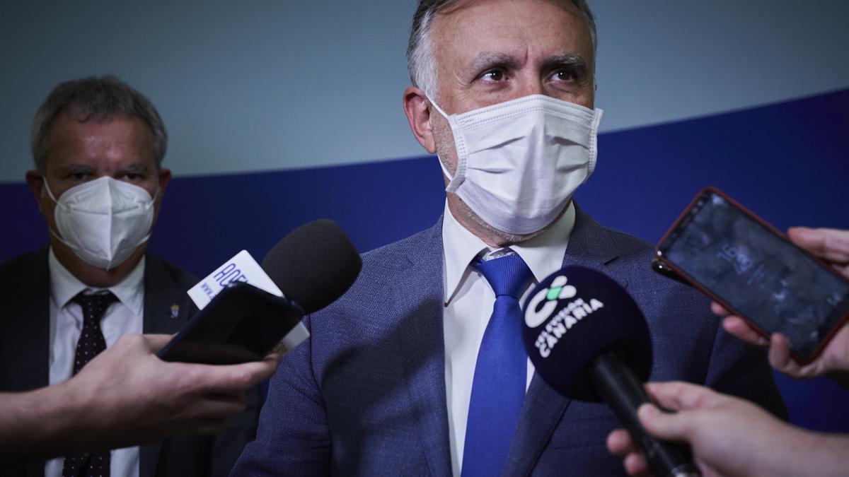 El presidente de Canarias, Ángel Víctor Torres.