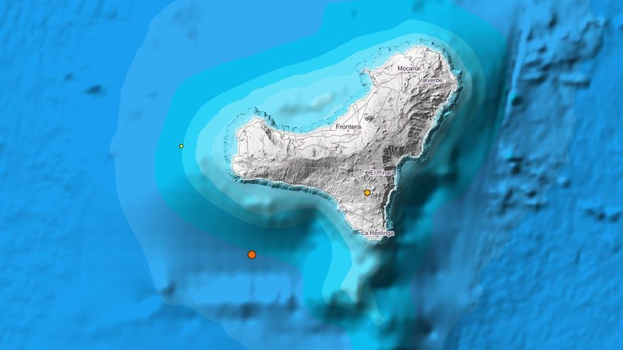 Terremoto en El Hierro: El IGN registra un seísmo de magnitud 3,1