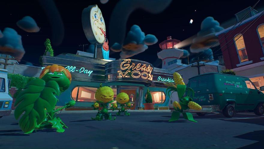 La batalla entre Plantas y Zombies llega a Switch con 'Battle for Neighborville'