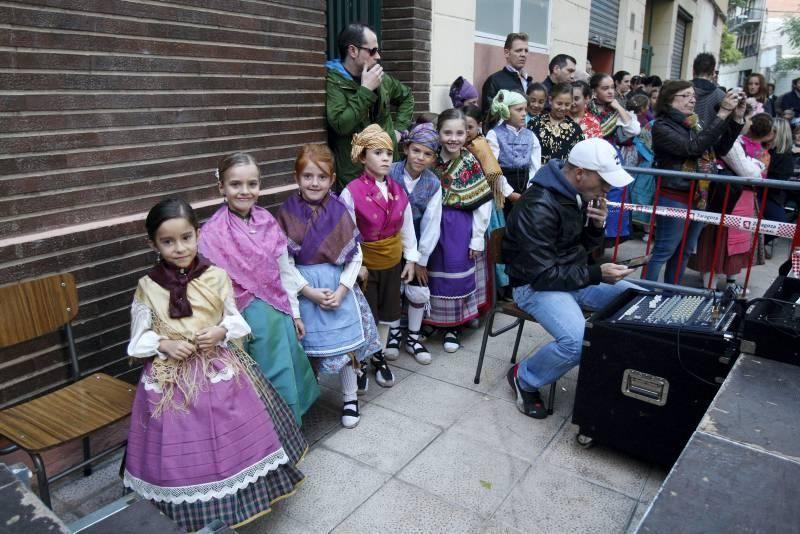 Escuelas de jotas en la Plaza de la Rebolería