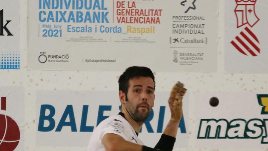 Pere Roc II és el primer semifinalista del mà a mà