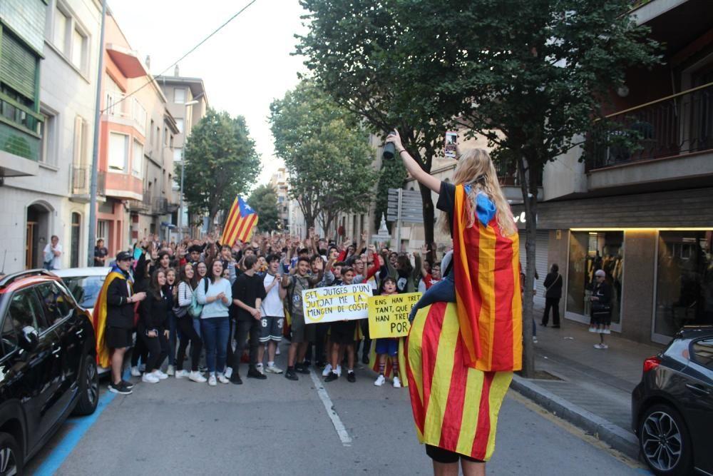 Manifestació a Figueres per la sentència de l''1-O
