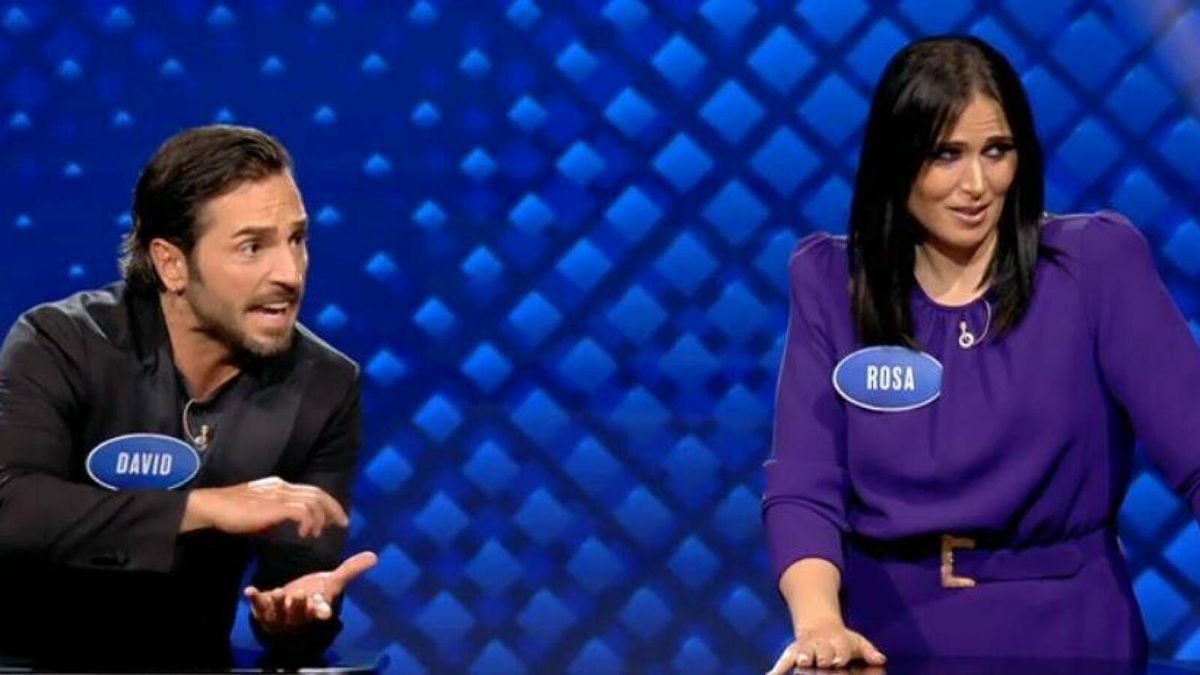 Rosa López, in & # 039; Family Feud: the battle of the famous & # 039 ;.