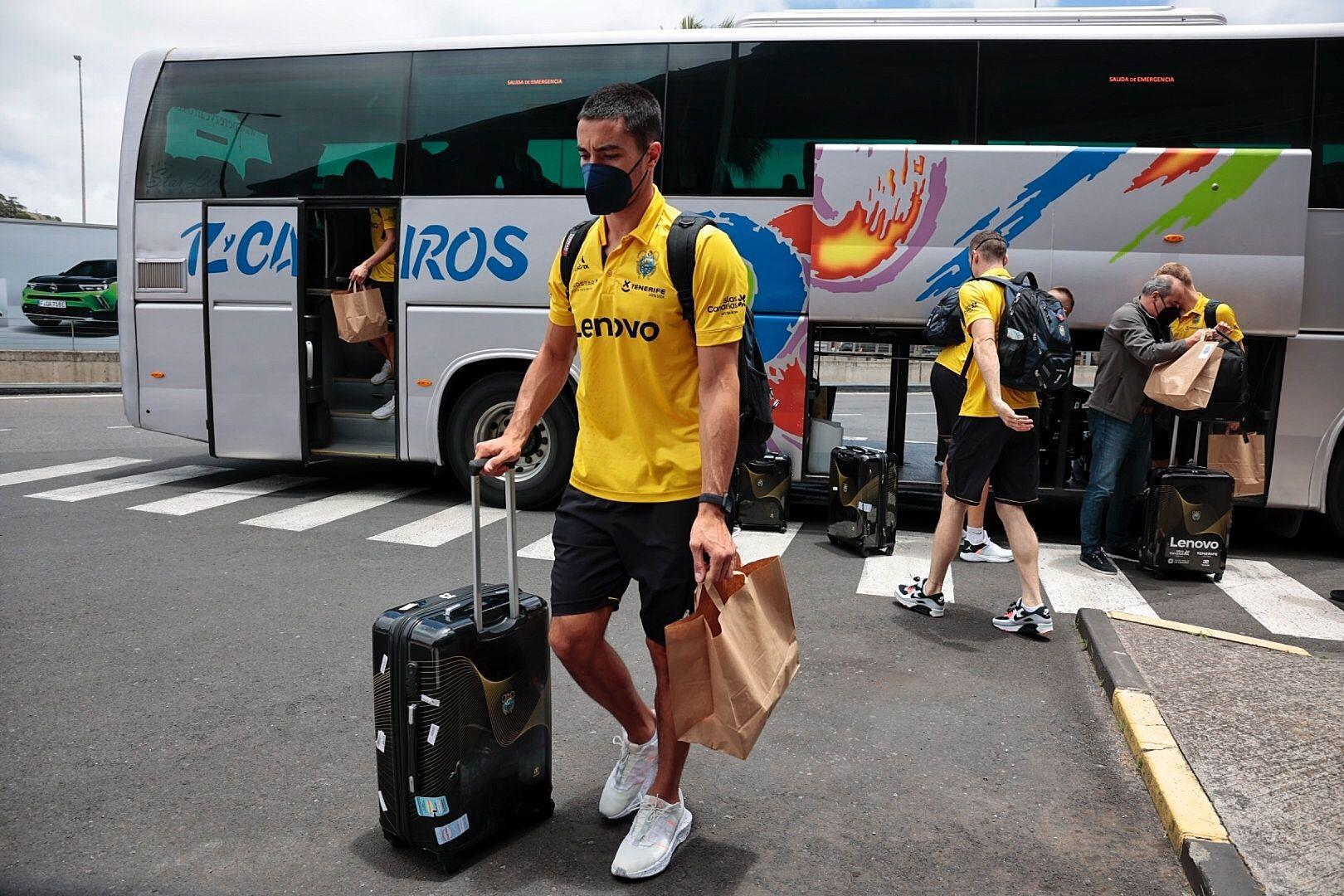 Salida del Lenovo hacia Barcelona