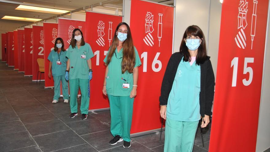 Los vacunódromos de Castellón cierran sus puertas