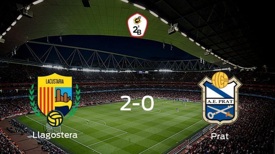 El Llagostera gana 2-0 en casa al Prat