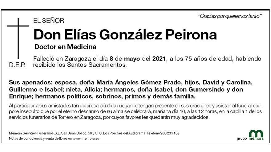 Elías González Peirona