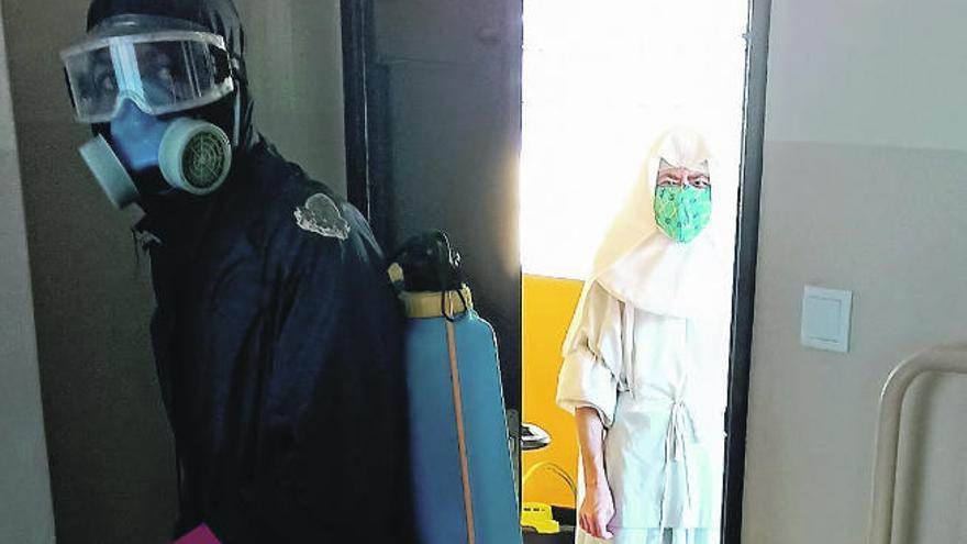 La lucha de una monja canaria en Maputo