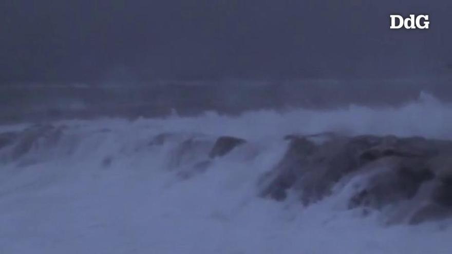 El temporal deixa més de 150 litres per metre quadrat a la Selva, la Garrotxa  i el Ripollès