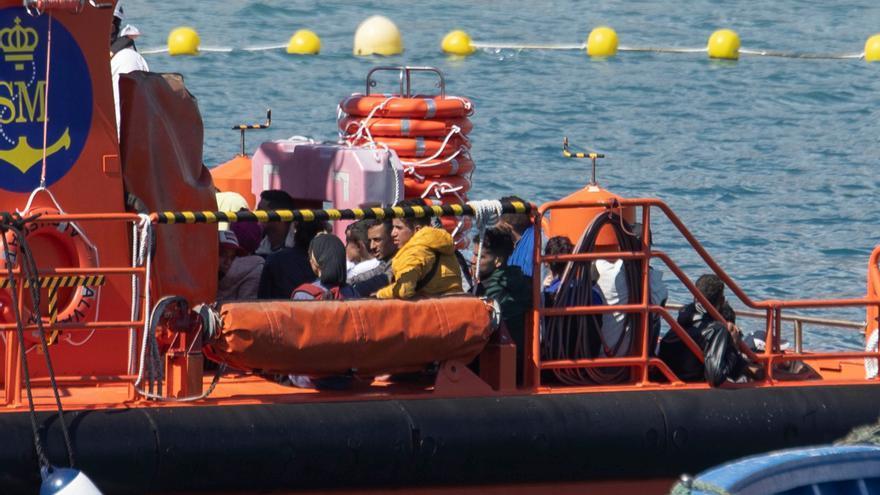 Rescatan a 225 migrantes en 6 pateras en Lanzarote, Gran Canaria y Tenerife
