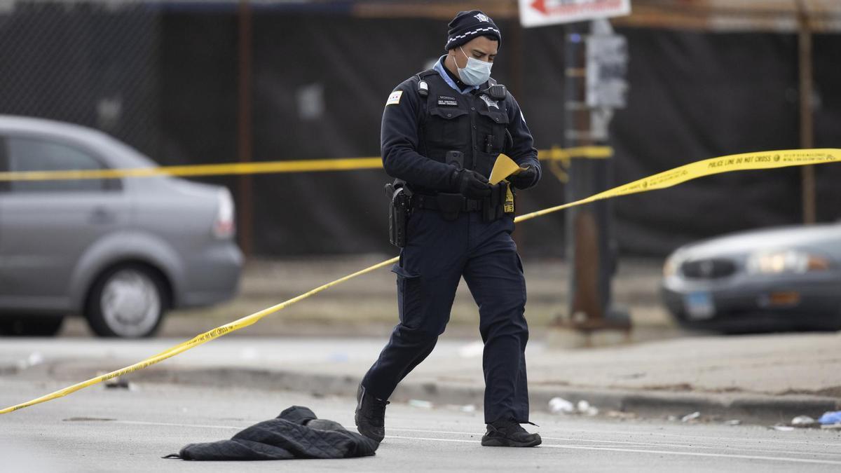 Un policía de Chicago.