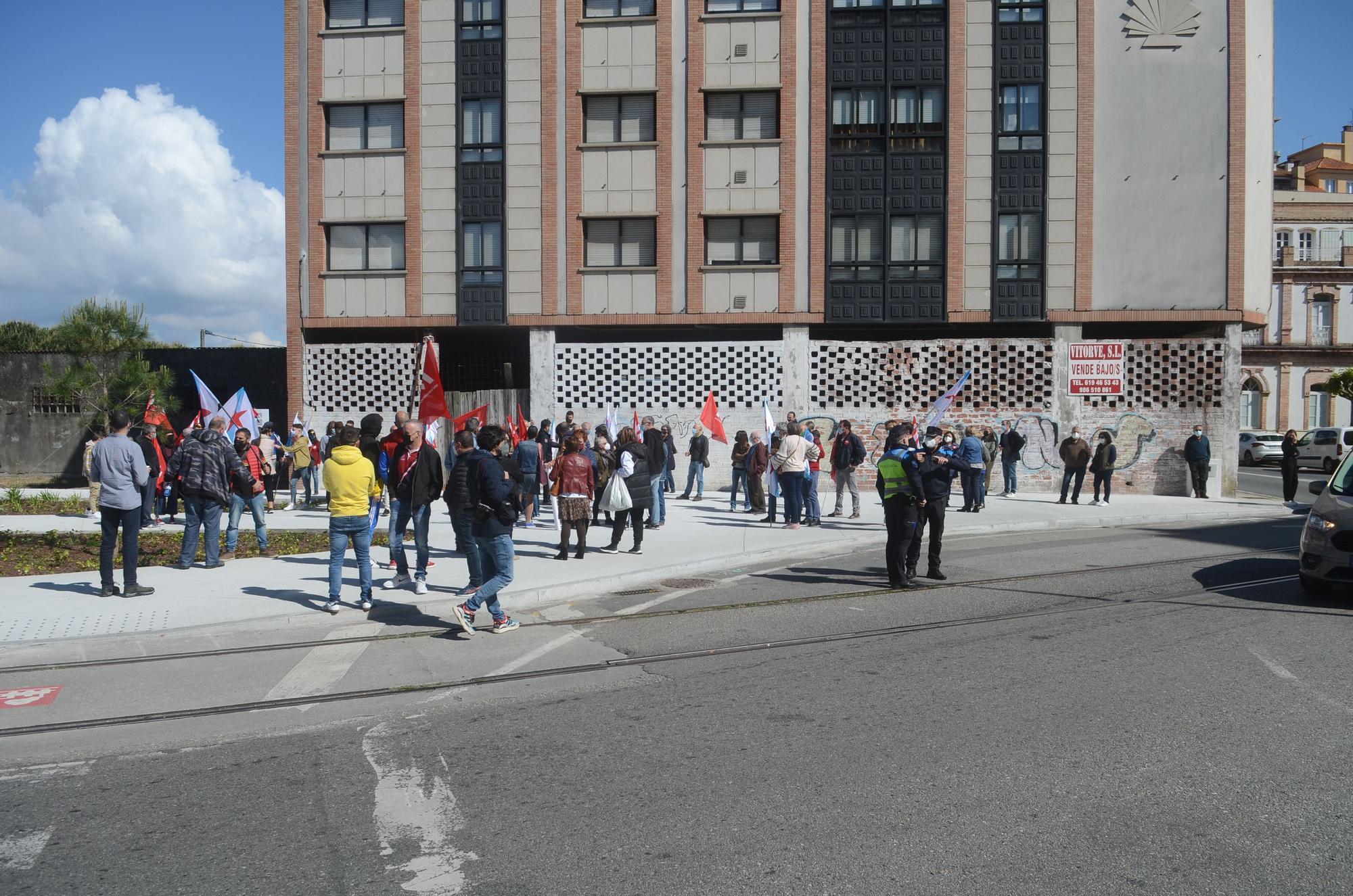 Vilagarcía se moviliza el Día del Trabajador