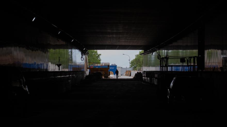Ferit greu un home per un accident a les obres del túnel de les Glòries de Barcelona