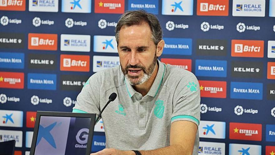 Vicente Moreno: «Al Elche nadie le ha ganado en casa y su potencial en ataque es brutal»