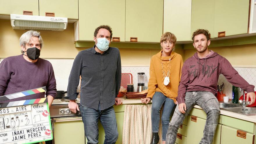 María León y David Castillo se incorporan a 'Besos al aire', la nueva miniserie de Telecinco