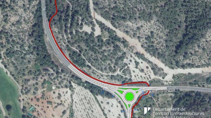 Camp de Mar erhält seinen seit Jahren geforderten Kreisverkehr