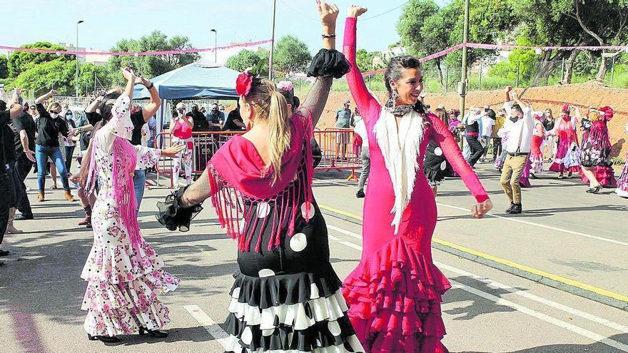 Las sevillanas inundan de arte el Flamenco Fusión de Benicàssim