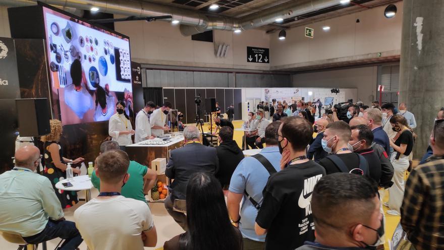 La gastronomía de Gran Canaria enamora y cierra con éxito Madrid Fusión 2021