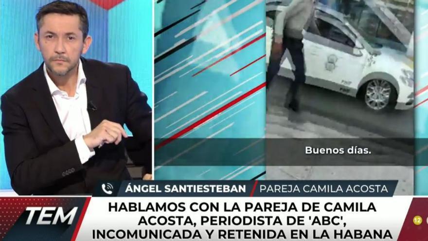 Javier Ruiz presenta 'Todo es mentira' tras el positivo en covid de Risto