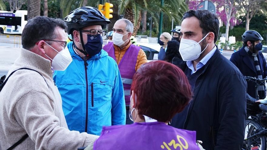 El PSOE pide medidas inmediatas para proteger a los ciclistas y a los usuarios de patinetes en Málaga