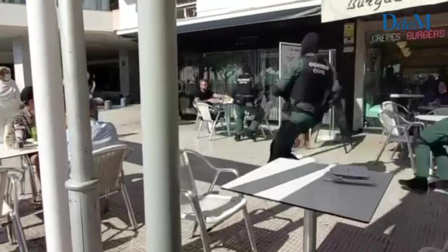 Guardia Civil nimmt zwei mutmaßliche deutscher Drogenhändler in Palma de Mallorca fest