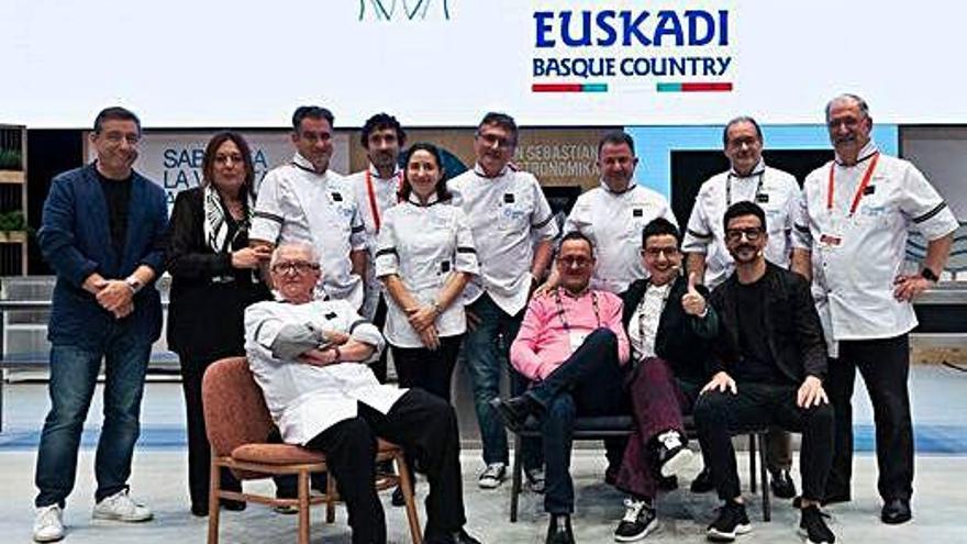 Carme Ruscalleda rep el premi de la San Sebastián Gastronomika