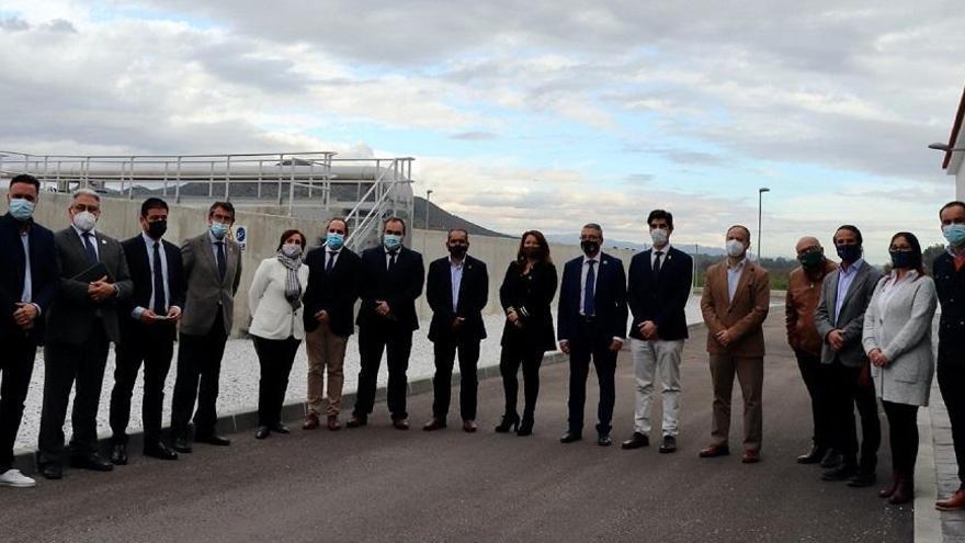La Junta entrega la depuradora del Bajo Guadalhorce a los ayuntamientos de Pizarra, Álora y Coín