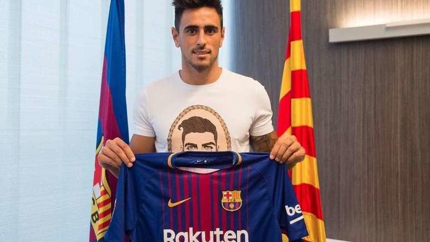 El exoviedista Costas renueva con el Celta y se va cedido al Barça B