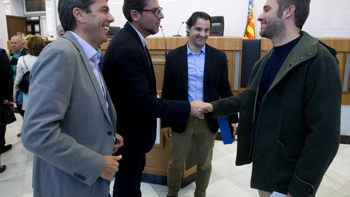 Compromís presenta un plan para desbloquear la entrada de la Diputación al Fondo de Cooperación
