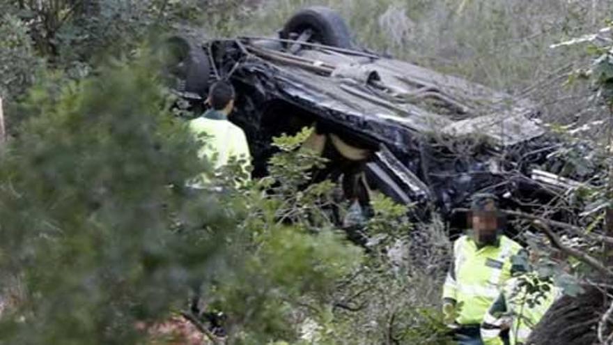 Tres muertos en un accidente de tráfico en Mallorca