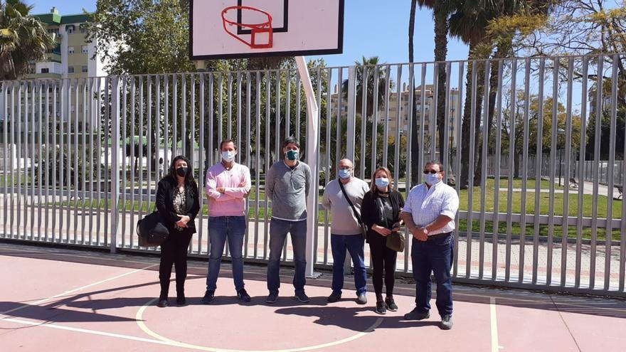 EBG Málaga amplía sus zonas de entrenamiento con una pista más en la barriada Guindos-Selene