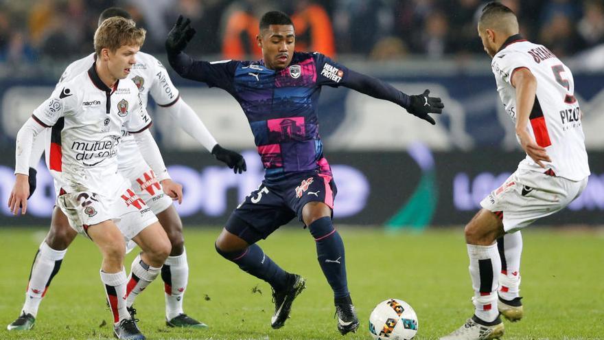 L'extrem brasiler Malcom (Girondins), nou jugador del Futbol Club Barcelona